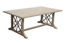 Coffee Table, Available in Old World Finish Only.