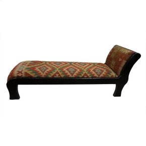 Kilim Carved Bench