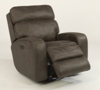Tomkins Fabric Power Gliding Recliner with Power Headrest Product Image
