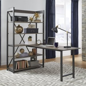 LIBERTY FURNITURE INDUSTRIESDesk and Bookcase Set
