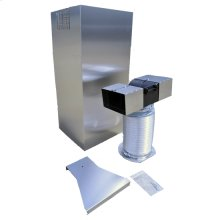 Wall Hood Chimney Extension Kit (9-12ft) for recirculation