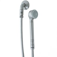 Contemporary Wall Mount Handshower - Polished Chrome