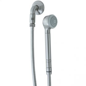 Contemporary Wall Mount Handshower - Brushed Nickel