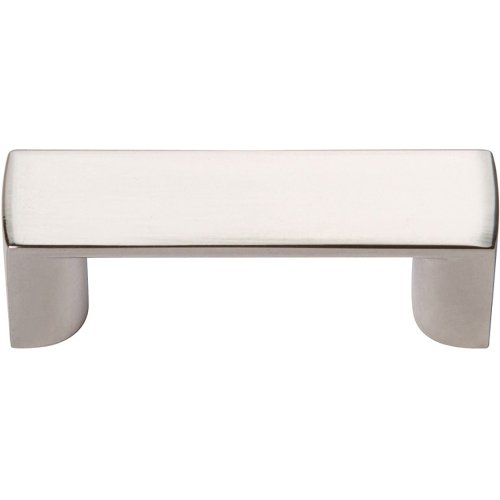 Tableau Squared Handle 1 7/16 Inch - Polished Nickel