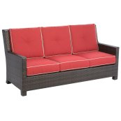 Saddlery Deep Seating Sofa