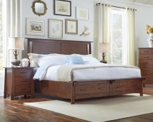 Cal King Bed Storage Bed