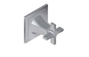 Finezza DUE Three-Way Diverter Valve Trim Plate and Handle