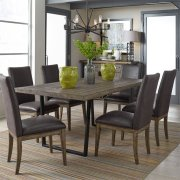 7 Piece Trestle Table Set Product Image