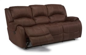 Pure Comfort Fabric Reclining Sofa