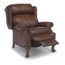 Bonneville Leather High-Leg Recliner