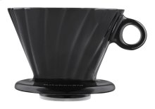 4 Cup Pour Over Cone - Onyx Black