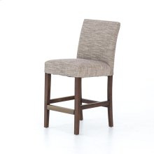 James Counter Stool-strae Sepia