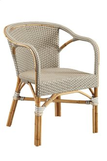 Grey Paley Bistro Chair