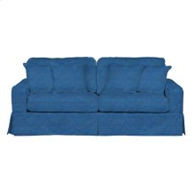 Sunset Trading Americana Slipcovered Sofa - Color: 410046