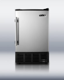 Compact Icemaker With Manual Defrost for Undercounter Use
