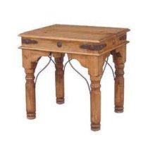 End Table W/conchos