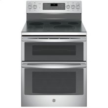 """30"""" Free Standing Electric Double Oven Self Cleaning True Convection Range"""