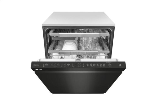 [CLEARANCE] Top Control Smart wi-fi Enabled Dishwasher with QuadWash. Clearance stock is sold on a first-come, first-served basis. Please call (717)299-5641 for product condition and availability.
