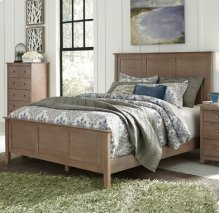 Lancaster Bed Taupe Gray
