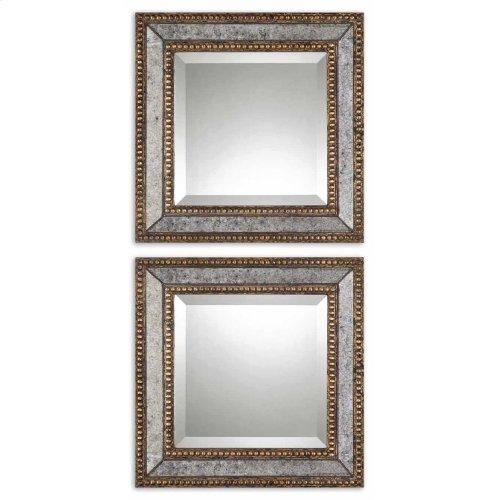 Norlina Square Mirrors, S/2