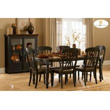 7PC SET (Table with 6 Chairs)