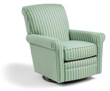 Plaza Fabric Swivel Glider w/out Nails