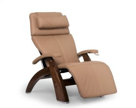 Perfect Chair PC-420 Classic Manual Plus - Sand Top Grain Leather - Walnut