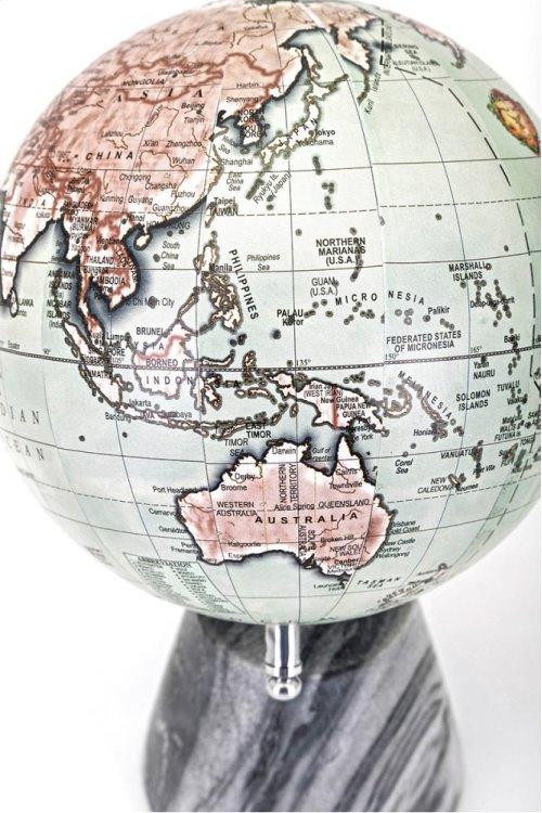 Beth Kushnick Globe with Marble Base