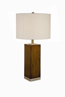 Boissiere Walnut Table Lamp