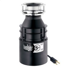 Badger 5XP Garbage Disposal - With Cord