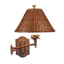Palm Retreat Swing Arm Wall Lamp