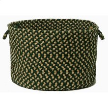 "Brook Farm Basket BF62 Winter Green 14"" X 10"""