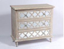 Emerald Home Ac701-05 Canterwood Dresser, Whitewash