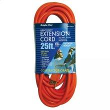 12/3 25 ft. Orange Extension Cord