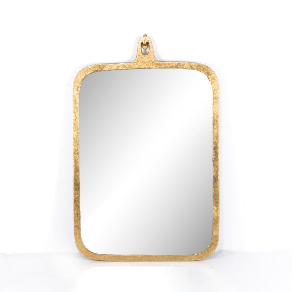Hyde Large Mirror-gold Leaf