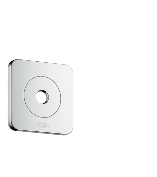 "Chrome Citterio E Wall Plate, 5""x5"""