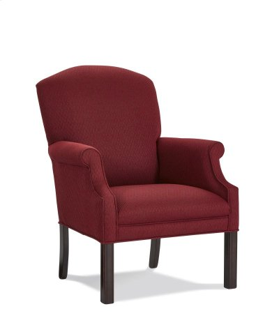 Occasional Chair with Oak Legs