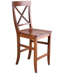 La Croix Counter Chair - Wood Seat