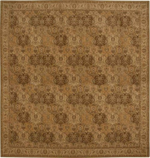 Hard To Find Sizes Grand Parterre Pt04 Gold Rectangle Rug 13'9'' X 14'