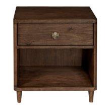 Stanley One Drawer Bookshelf Nightstand