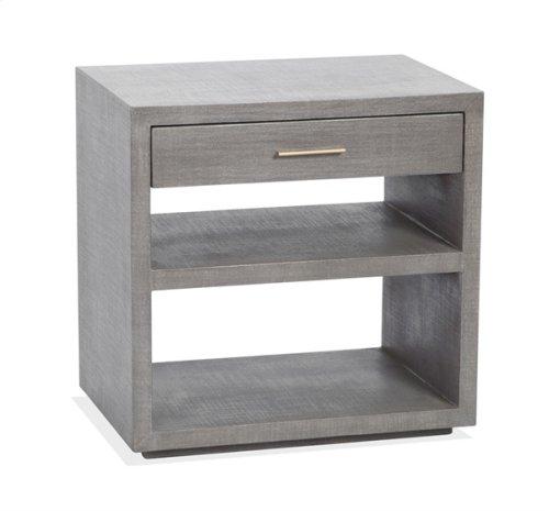 Livia Bedside Chest - Grey