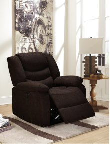 Eden Chocolate Brown Power Recliner Chair