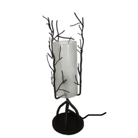 Branches Table Lamp w/Frosted Glass