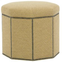 Dolly Ottoman in #44 Antique Nickel