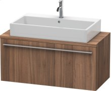 X-large Vanity Unit For Console Compact, Natural Walnut (decor)