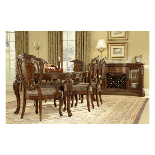 Old World Leg Dining Table