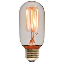 T45 15 Anchors 60w E Light Bulb  Clear