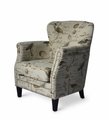 Phoebe Accent Chair, Cream