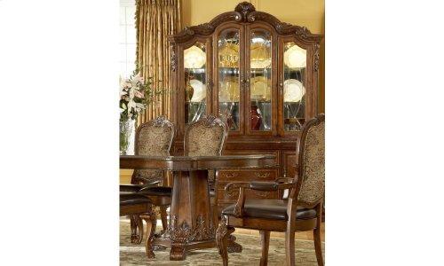 Old World Upholstered Back Side Chair