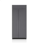 "36"" Classic Side-by-Side Refrigerator/Freezer - Panel Ready Product Image"